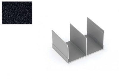 Профиль напр. Ш-образный Черный муар 2,95 м