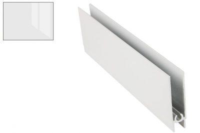 Профиль нижний горизонт. Белый глянец 2,95 м