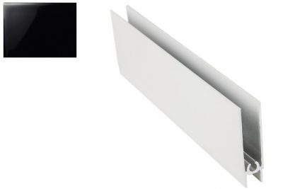 Профиль нижний горизонт. Черный глянец 2,7 м