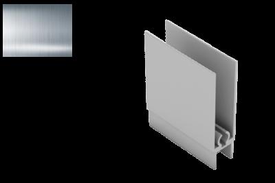 Профиль нижний горизонт. РИАЛ KR07 серебро 2,95
