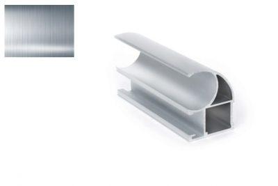Профиль вертик. Ассим. Стандарт D-2424  серебро 2,7 м