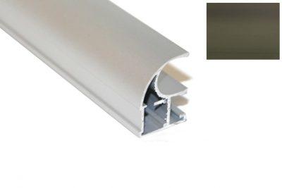 Профиль вертик. Ассим. Идеал D-2952 (B-1603P) бронза 2,7 м