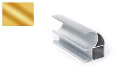 Профиль вертик. Ассим. Стандарт D-2424 золото 2,7 м
