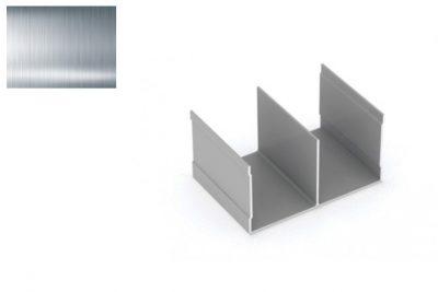 Профиль напр. Ш-образный РИАЛ KR02 серебро 2,95